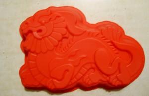 силиконовая форма Дракон