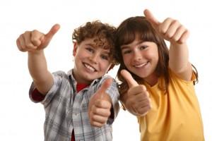 Дети занимаются английским с удовольствием