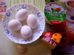 блюда из яиц с фото