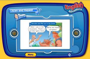 английский для детей на компьютере