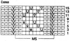 вязание со схемами и описанием