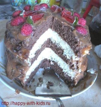 рецепт торта на детский день рождения