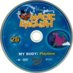 magic english my body dvd