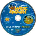 magic english wild animals dvd