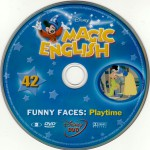 magic english funny faces dvd