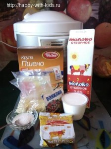 как приготовить пшенную кашу в мультиварке